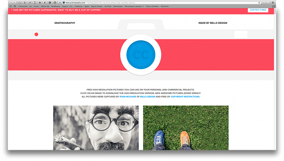 40 Stock Sites for Motion Designers -  Gratisography