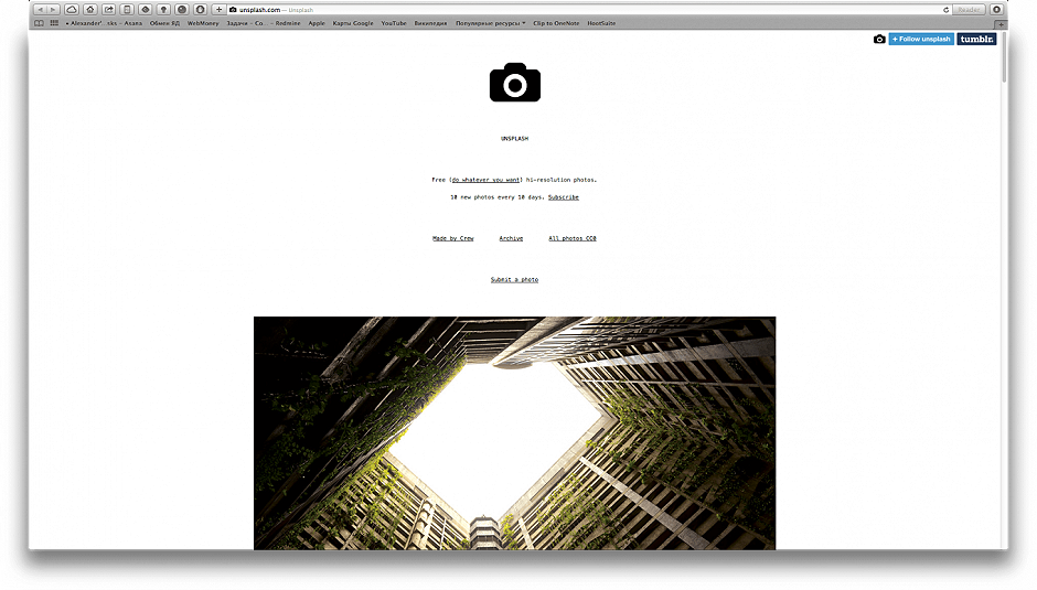 40 Stock Sites for Motion Designers - Unsplash