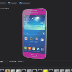 Samsung Galaxy S4 Mini for Element 3D