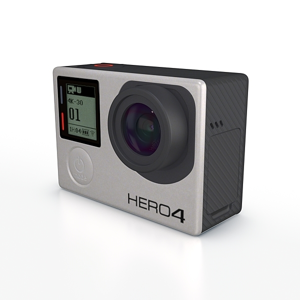 GoPro HERO 4 Black for Element 3D