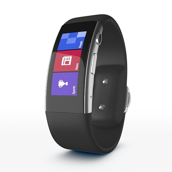 Microsoft Band 2 for Element 3D