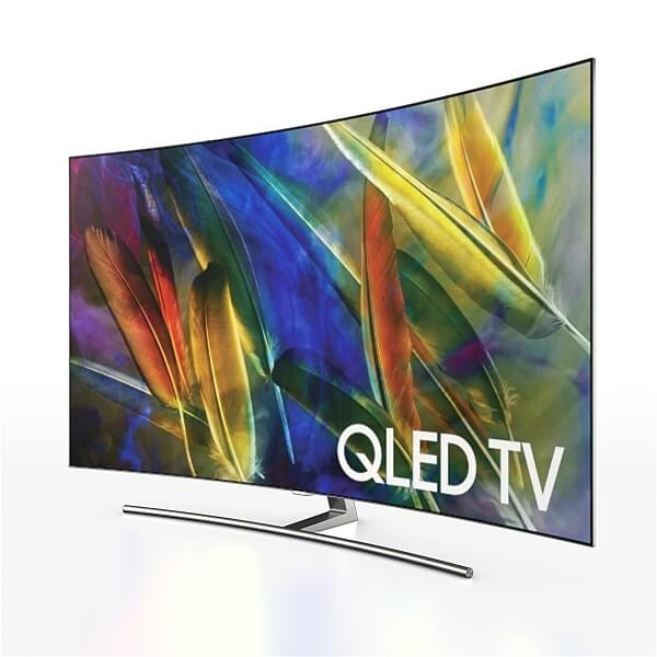 Samsung QLED Smart Curved TV Q8C for Element 3D
