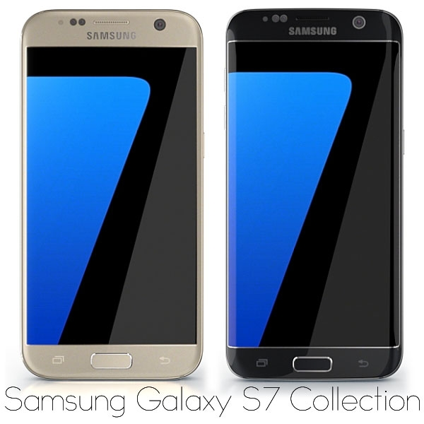 Samsung Galaxy S7 and Samsung Galaxy S7 Edge for Element 3D